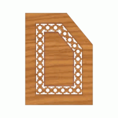 Laser Cut Pattern Design Cnc 235 Free DXF File