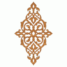 Laser Cut Pattern Design Cnc 234 Free DXF File