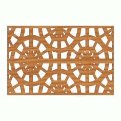 Laser Cut Pattern Design Cnc 232 Free DXF File