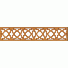 Laser Cut Pattern Design Cnc 231 Free DXF File