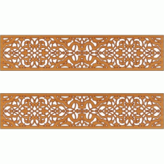 Laser Cut Pattern Design Cnc 229 Free DXF File
