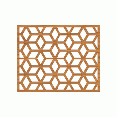 Laser Cut Pattern Design Cnc 218 Free DXF File