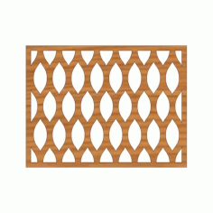 Laser Cut Pattern Design Cnc 206 Free DXF File