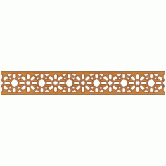 Laser Cut Pattern Design Cnc 202 Free DXF File