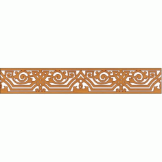 Laser Cut Pattern Design Cnc 192 Free DXF File