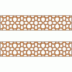 Laser Cut Pattern Design Cnc 189 Free DXF File