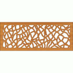 Laser Cut Pattern Design Cnc 186 Free DXF File