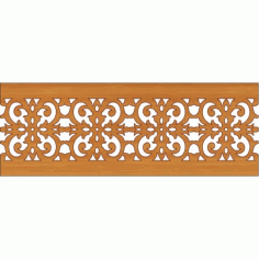 Laser Cut Pattern Design Cnc 177 Free DXF File