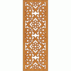 Laser Cut Pattern Design Cnc 175 Free DXF File