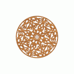 Laser Cut Pattern Design Cnc 174 Free DXF File