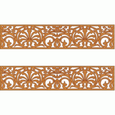 Laser Cut Pattern Design Cnc 170 Free DXF File