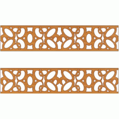 Laser Cut Pattern Design Cnc 166 Free DXF File