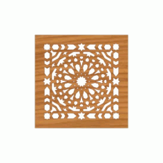 Laser Cut Pattern Design Cnc 165 Free DXF File