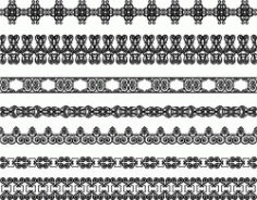 Border Pattern For Laser Engraving Machines Free CDR Vectors Art