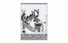 Egypt Free DXF File