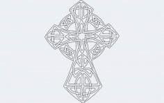 Celticcross Free DXF File