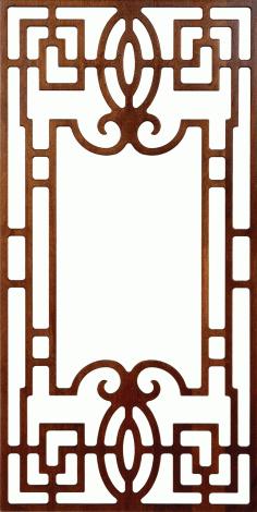 Jali Design 300v6 3 Free DXF File
