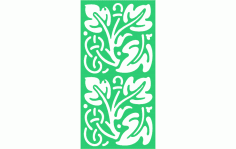 Ornamental Panel 2 Free DXF File
