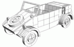 Kubelwagen Download For Laser Free DXF File