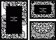 Wedding Card Download For Laser Free DXF File