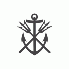Anchor 01 Free DXF File