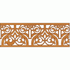 Decoration Screen Panel Design 342 Cnc Free DXF File