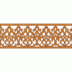 Decoration Screen Panel Design 343 Cnc Free DXF File