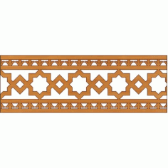 Decoration Screen Panel Design 344 Cnc Free DXF File