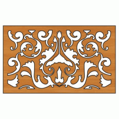 Decoration Screen Panel Design 346 Cnc Free DXF File