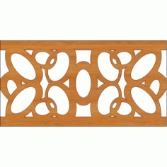 Decoration Screen Panel Design 352 Cnc Free DXF File