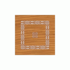Decoration Screen Panel Design 353 Cnc Free DXF File