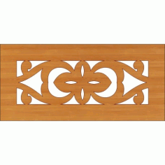 Decoration Screen Panel Design 355 Cnc Free DXF File