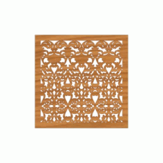 Decoration Screen Panel Design 366 Cnc Free DXF File