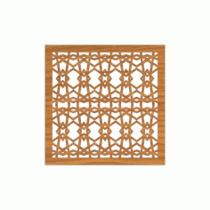 Decoration Screen Panel Design 368 Cnc Free DXF File