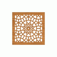Decoration Screen Panel Design 369 Cnc Free DXF File