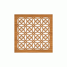 Decoration Screen Panel Design 371 Cnc Free DXF File