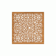 Decoration Screen Panel Design 372 Cnc Free DXF File