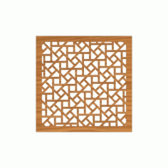 Decoration Screen Panel Design 373 Cnc Free DXF File