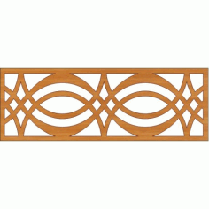 Decoration Screen Panel Design 375 Cnc Free DXF File