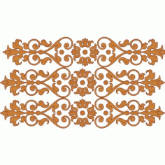 Decoration Screen Panel Design 396 Cnc Free DXF File