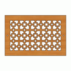 Decoration Screen Panel Design 426 Cnc Free DXF File