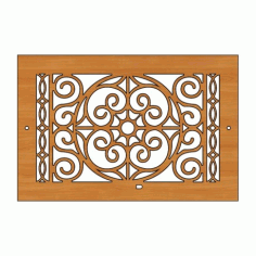 Decoration Screen Panel Design 428 Cnc Free DXF File