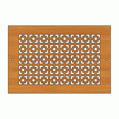 Decoration Screen Panel Design 442 Cnc Free DXF File
