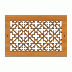 Decoration Screen Panel Design 443 Cnc Free DXF File