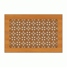 Decoration Screen Panel Design 445 Cnc Free DXF File