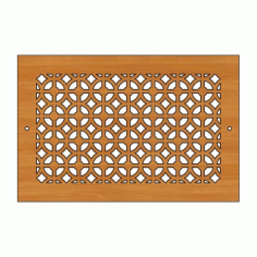 Decoration Screen Panel Design 446 Cnc Free DXF File