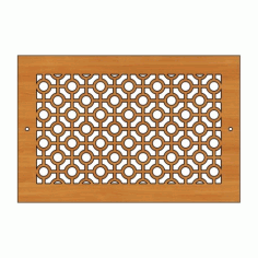Decoration Screen Panel Design 447 Cnc Free DXF File