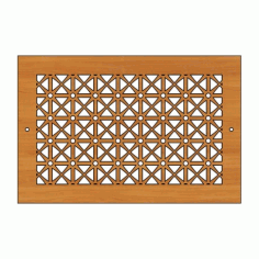 Decoration Screen Panel Design 448 Cnc Free DXF File
