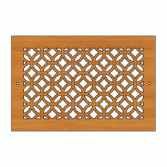 Decoration Screen Panel Design 449 Cnc Free DXF File