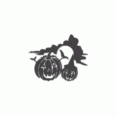 Halloween Holiday Jackolantern Free DXF File